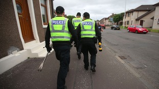 Police officers were given stop and search powers