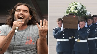 Russell Brand: A minute's silence for Tunisia victims is 'total bullsh*t'