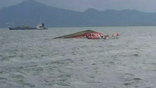 The ferry sinks near Ormoc City