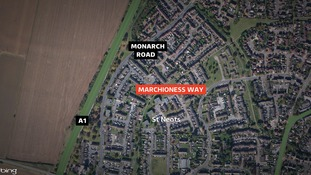 Marchioness Way in St Neots.