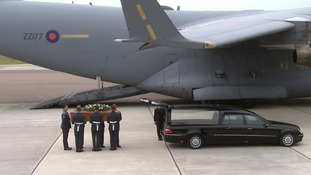 Brize Norton repatriation image