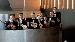 he Ukulele Orchestra of Great Britain pictured in 2012