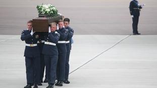 Trudy Jones coffin