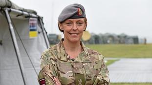 Lieutenant Colonel Alison McCourt,