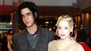 Peaches with musician husband Tom Cohen.