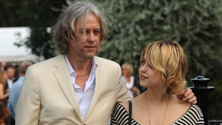 Sir Bob Geldof with daughter Peaches in 2009.