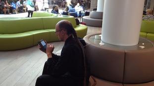 Bristol airport departure lounge