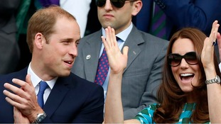 Wimbledon fans William and Kate bid for new tennis court