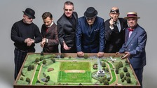 Madness ahead of their concert this weekend.