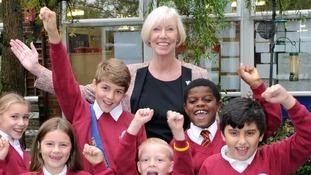 Head teacher Angela Konarzewski of Fleetdown Primary School
