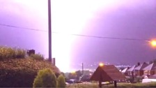 Lightning in Tividale