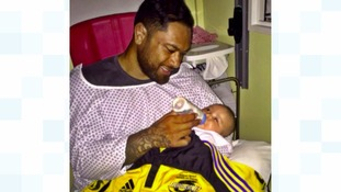 Jerry Collins' daughter pictured for first time since parents' death
