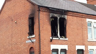 Lightning strike causes house fire in Leicestershire