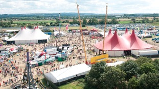 Global Gathering was held near Stratford-upon-Avon at the weekend