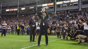 Gerrard unveiled by LA Galaxy
