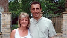 Stephen Mellor from Bodmin died trying to protect his wife Cheryl
