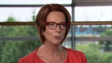 Julia Gillard, the first female Prime Minister of Australia