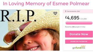 Thousands raised for school girl's funeral