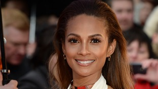 Alesha Dixon mocked for singing national anthem in American accent at British Grand Prix