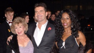 Simon Cowell with mother