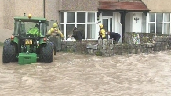 Flooding in Ceredigion