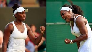 Serena vs Venus.