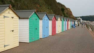 The future of Seaton's beach huts is due to be discussed this week