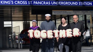 Rabbi Laura Janner-Klausner, Imam Qari Asim, 7/7 survivor Gill Hicks and reverend Bertrand Olivier