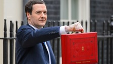 George Osborne delivers the budget n 2014