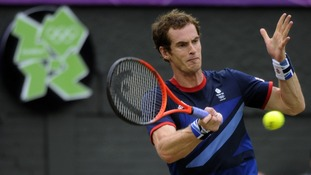 Andy Murray claimed victory over Finland's Jarkko Nieminen in 61 minutes