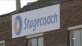 Stagecoach, the company where  EuroMillions winner Ally Spencer works