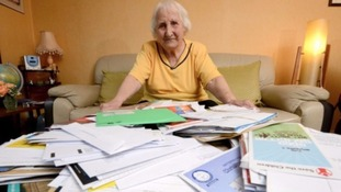 92 year old Olive Cooke received 200 begging letters a month
