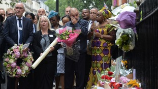 George Psaradakis made an emotional return to Tavistock Square