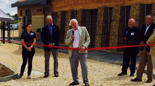 Sir David Attenborough opening the Rutland training centre