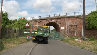 The bridge at Witham.