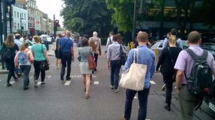 Londoners posted images of their #WalkTogether tributes