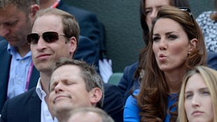 William and Kate have been regular supporters at Wimbledon.