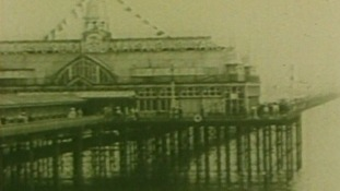 It was in 1889 that the present iron pier first opened.