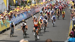 The women's Tour of Britain took place earlier in the year.