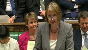 Acting Labour leader Harriet Harman.