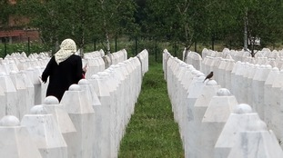 More than 8,000 people died in the massacre