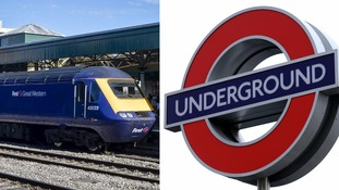 Strikes by London Underground and First Great Western begin at 6.30pm.