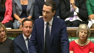 George Osborne speaks in Parliament