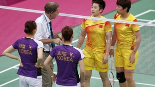 Olympics Badminton charges