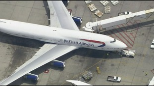 The flight was forced to land after Halliwell allegedly became aggressive.