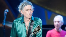 Keith Richards is currently on tour with the Rolling Stones
