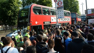 Tube strikes put additional pressure on bus services in London.