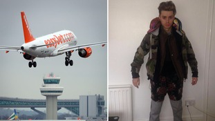 Singer collapses after wearing all his clothes to avoid easyJet excess baggage charge