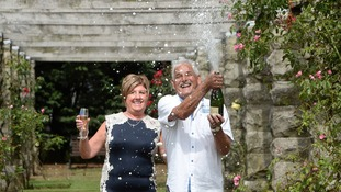 Grandparents Dawn and Malcolm Bosworth won £5,872,705 when their numbers came up on June 24.
