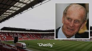 His verdict on Stoke-on-Trent in 1997